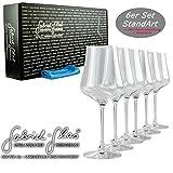 Palatina Werkstatt ® Gabriel-Glas | Standart Edition 6er Geschenk-Set | Weinglas nur 150 Gramm...