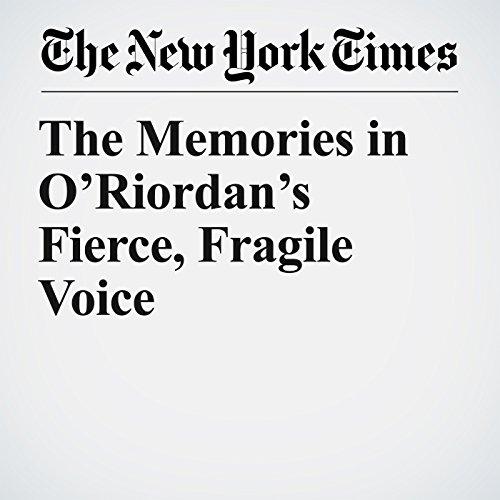 The Memories in O'Riordan's Fierce, Fragile Voice copertina