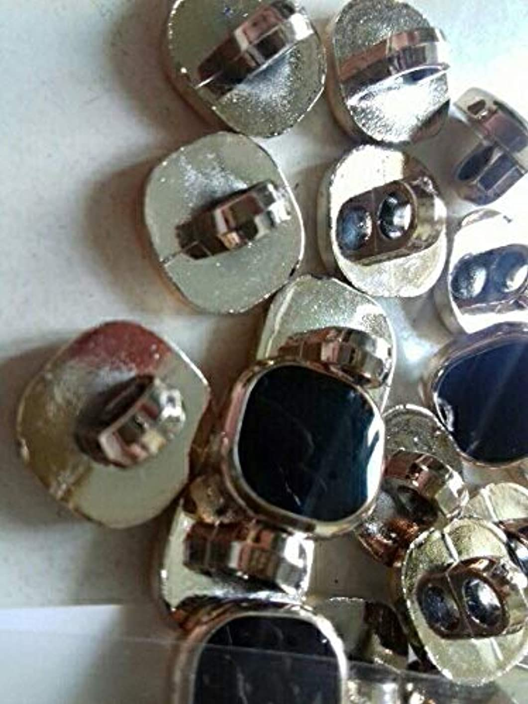 ゲート競争力のあるソビエトJicorzo - 衣料品クリスマススクラップブック作りノエルアクセサリー縫製コートのボタンScrabookのための100pcs DIY手作りメタルスナップボタン[100個]