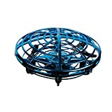 UFO Hand-Controlled Drone, UFO Drones for Kids, Drone for Adults, Flying Toys for Kids, Blue - BabyLuv