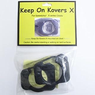 Keep on Kovers X  ライトアクション/LIGHT ACTION専用 スピードプレイ 耐久性UP 穴開きクリートカバー