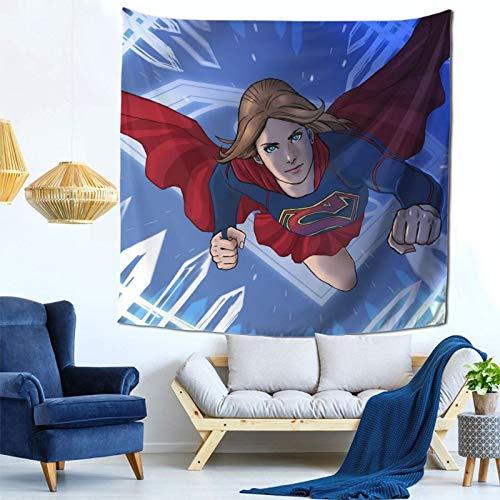 Tapiz para colgar en la pared, tapiz de pared para dormitorio, decoración de dormitorio de niña para sala de estar, 59 x 59 pulgadas