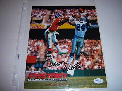 Everson Walls NFL Dallas Cowboys Hand Signed 8x10 Photograph