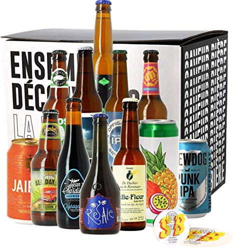 Assortiment IPA - 12 bières - Idée cadeau
