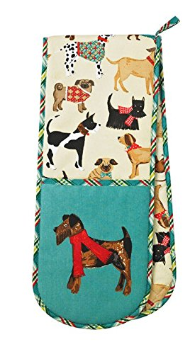 Mueslischaal/soepkom met hondenmotief van Ulster Weavers