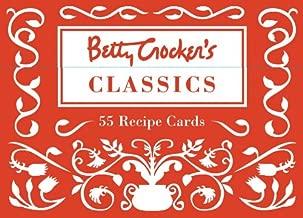 Cook's Cards: Betty Crocker's Classics: 55 Recipe Cards