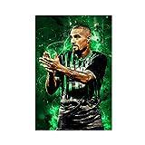 Poster mit Super-Star-Fußballspieler Jerome Boateng,