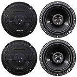 (4) Hifonics ZS653 6.5' 1200 Watt Car Stereo Coaxial Speakers