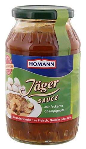 Homann Jäger-Sauce 3er Pack (3 X 500ml)