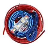 Etopar Car Amplifier Wiring Kit Audio Subwoofer AMP RCA Power Cable AGU FUSE 14 Gauge GA AWG Wire Install Connector Holder Automotive Van