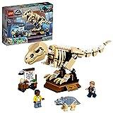 LEGO 76940 Jurassic World Exposición del Dinosaurio T. Rex Fosilizado, Set de Juego para Niños a Partir de 7 Años, Maqueta de Esqueleto