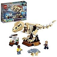 LEGO 76940 Jurassic World T. rex Dinosaur Fossil Exhibition Toy Playset for Kids Age 7+, Skeleton Mo...