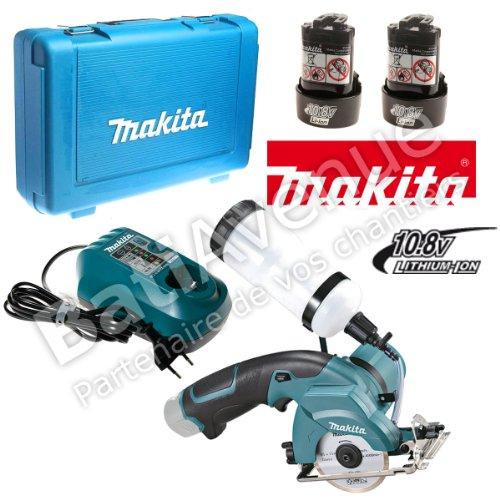 Makita CC300DWE Akku-Fliesen-Glasschneider 10,8 V, 2 Akkus und Ladegerät