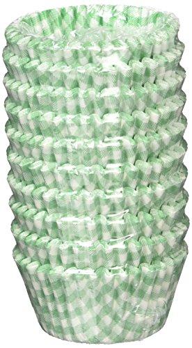 遠藤商事 業務用 オーブンケース チェック柄 10号深口 緑 紙 日本製 XOC0236