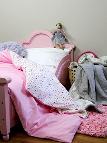 Cotton Flower Toddler Quilt (Quilt + Duvet Cover), Warmer (Fairyland)