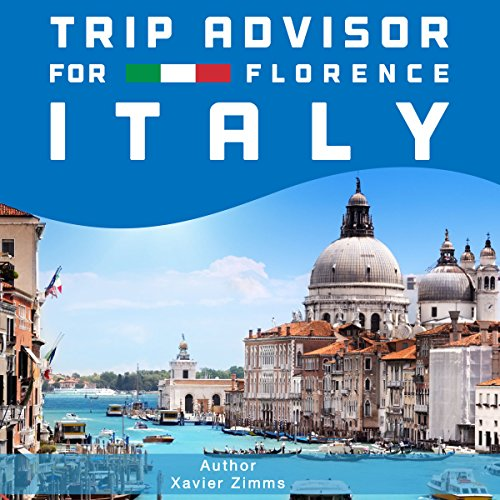 TripAdvisor for Florence, Italy audiobook cover art