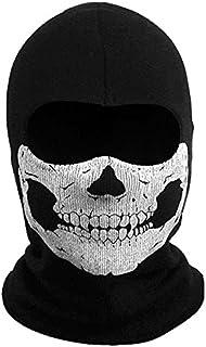 SHENKEL CoD ゴースト風 スカル バラクラバ フェイスマスク 目出し帽 サバゲー v1