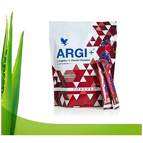 Forever living argi+in pouch 5 gramos de l-Arginina por ración con vitaminas del grupo B y C.
