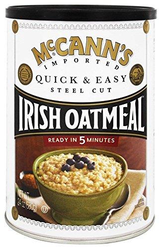 McCanns Quick & Easy Steel Cut Oatmeal Can, 24 oz