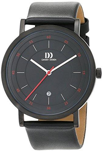 Danish Design 3314527 - Orologio da polso Uomo, Pelle, colore: Nero