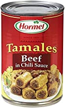 Hormel Tamales Beef in Chili Sauce (Pack of 6)