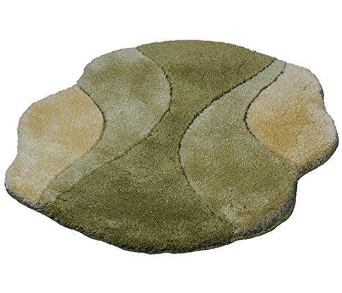 Kleine Wolke 4031602378 Badteppich Excelsior, 90 x 130 cm, klee