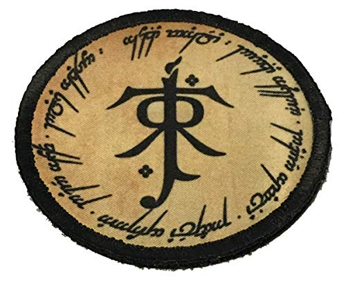 Tolkein Ring of Power 3 Circle Morale Patch Military Tactical Made in The USA