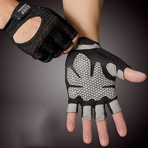 Half Finger Fitness Handschoenen Sport Rijden Mannen Vrouwen Fitness Antislip Dumbbell Apparatuur Training Oefening Half Vinger Pols Half Vingerhandschoenen 1 Paar