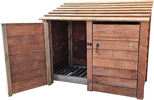 A-ZHP Holzkabinett-Lagerraum (Kapazität 1.49 Kubikmeter),Brown