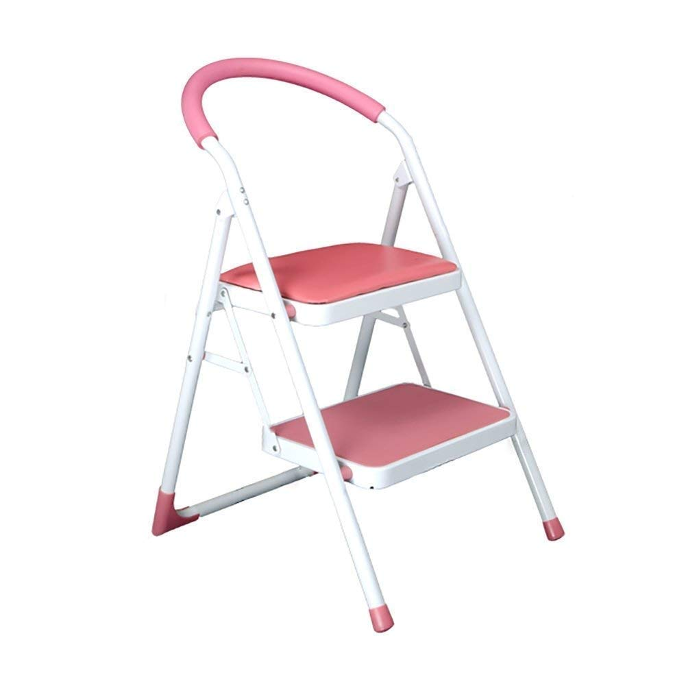 WOAINI Taburete for silla Escalera engrosada de 2 peldaños Taburete de peldaño ligero Taburete de peldaño Escalera plegable for el hogar Escalera interior: Amazon.es: Bricolaje y herramientas