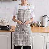 Delantal Coreano Delantal para El Hogar Cocina Impermeable Y A Prueba De Aceite Se Puede Lavar Adecuado para Florería Restaurante Cafetería Servicio Babero