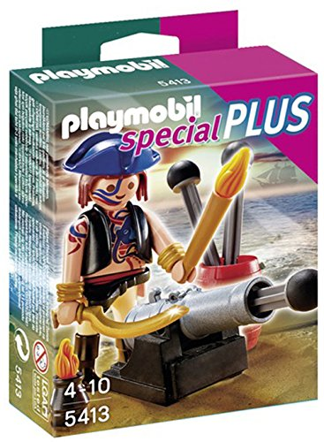 PLAYMOBIL Pirate with Cannon Playset