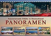 Faszinierende Staedte in Deutschland - Panoramen (Tischkalender 2022 DIN A5 quer): Eindrucksvolle Staedte Deutschlands in aussergewoehnlichen Panoramen. (Monatskalender, 14 Seiten )