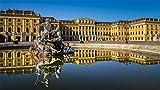 HMTTKPRO Kit De Pintura De Diamante 5D Schonbrunn Palace View Mosaico Punto De Cruz Decoración del Hogar Regalo 30x40 CM
