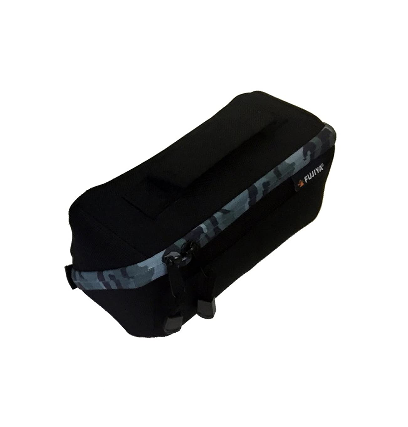 フジ矢(Fujiya) 布製工具ケース HIPPO CASE FHC-SA ガバッと開いて中身が見やすい 迷彩グレー
