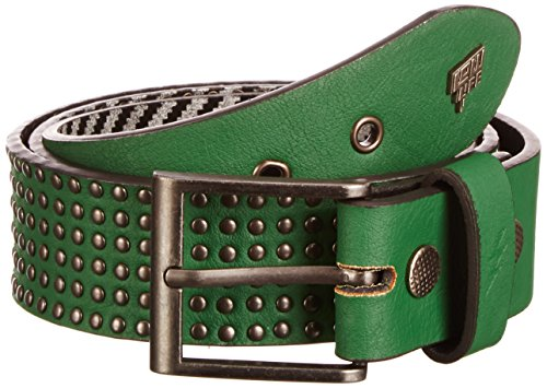Lowlife of London Wallace - Ceinture - Homme - Vert - 80 (Taille fabricant:Small)