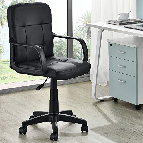 ArtLife Drehstuhl Pensacola mit Armlehnen | höhenverstellbar, ergonomisch & modern | 120 kg | Kunstleder | Bürostuhl Schreibtischstuhl