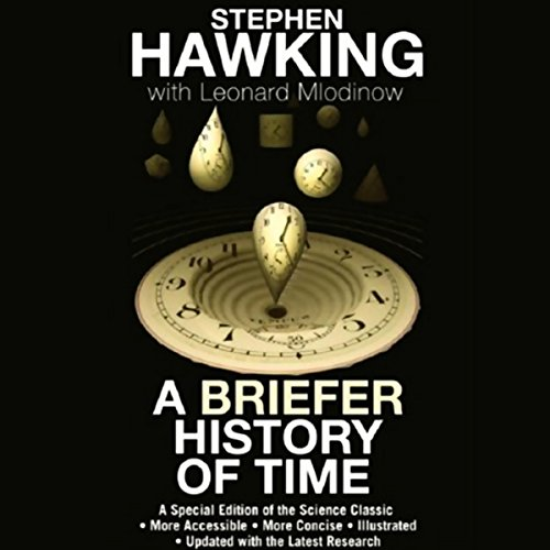 A Briefer History of Time audiobook cover art