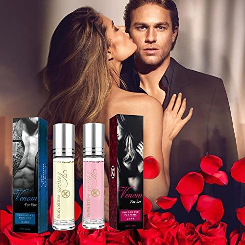 2pcs Allure Sweet & Seductive Perfume, Intimate Partner Erotic Perfume, Bellunamoon Romance Perfume De Feromonas, Perfume De Atracción De Feromonas En Aerosol Para Hombres Para Mujeres Unisex