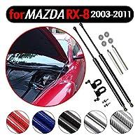 KUNSYOUKIM ボンネットフードダンパー マツダ RX-8 Mazda RX8 SE3P型 2003-2013 クーペに適合 車両改装用品 車検適応 1年間品質保証 2本セット [並行輸入品]
