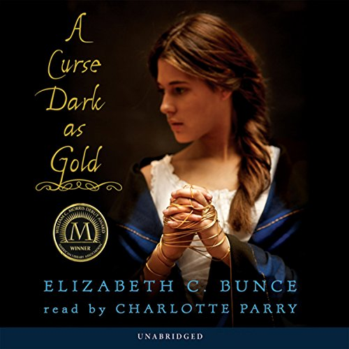 A Curse Dark as Gold audiobook cover art