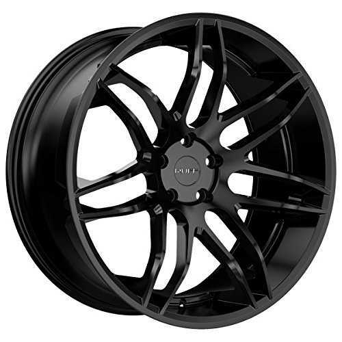 RUFF R960 All Satin Black Wheel with Painted Finish (22 x 10. inches /5 x 120 mm, 20 mm offset)