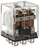 Omron LY3-AC24 General Purpose Relay, Standard Type, Plug-In/Solder Terminal, Standard Bra...
