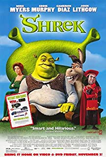 Shrek POSTER Movie (27 x 40 Inches - 69cm x 102cm) (2001) (Style C)