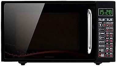 Quemador de microondas Smart Microondas negro Diseño compacto Horno de microondas más delgado, liviano y eficiente que se asará a la parrilla Nuevas actualizaciones Hace que la cocina quede sin olor