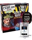 Escape Room Ampliación Secret Agent: Operation Zekestan – Juego familiar y social para adultos – Solo se puede jugar con el decodificador Chrono + 2 pegatinas Escape + 1 nudillo de metal.