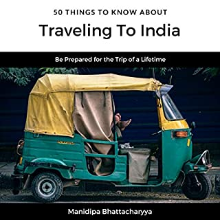 50 Things to Know About Traveling to India audiobook cover art