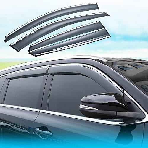 Auto Windabweiser Hon-da CRV 2012 2013 2014 2015 2016 Seitentür Windabweiser Wind Visor Regen Shields Schutz Vent Abdeckungen Schutz Externe Fit 4Pcs (Size : CRV2012-2016)