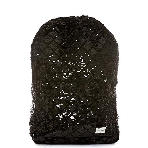 Spiral OG BLACK DIAMOND SEQUINS Rucksack 44 centimeters 18 Schwarz (Black)