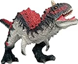 Gemini&Genius Jurassic Park Dinosaur Toys Carnotaurus with Movable Jaw 10    Length Dinosaur Action Figure Collection Jurassic World Dino Gift for Kids from 3-12 Years Old